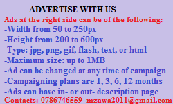Advertise with Mzawa